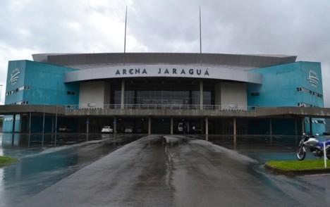 Arena Jaraguá deve receber cerca de 9.500 pessoas, para o UFC no Combate 2 (Foto: Ivan Raupp)