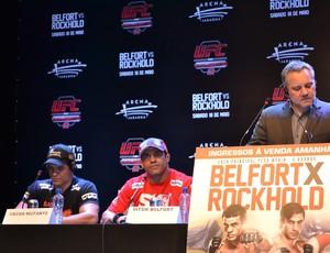 Vitor Belfort em entrevista do UFC (Foto: Ivan Raupp/SporTV.com)